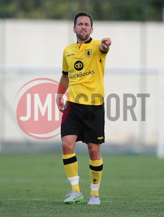 Aston Villa's Joe Cole  - Photo mandatory by-line: Joe Meredith/JMP - Mobile: 07966 386802 - 17/07/2015 - SPORT - Football - Albufeira - Estadio Da Nora - Pre-Season Friendly