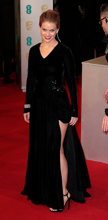 Feb 8, 2015 - EE British Academy Film Awards 2015 - Red Carpet Arrivals at Royal Opera House<br /> <br /> Pictured: Alice Eve<br /> ©Exclusivepix Media