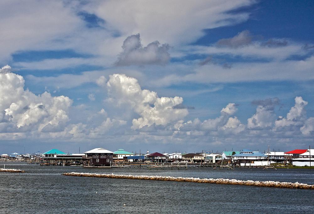 Grand Isle From Bayside, 8/09