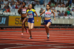 London, 2017 August 06. Zoey Clark qualifies in heat five of the Women's 400m on day three of the IAAF London 2017 world Championships at the London Stadium. © Paul Davey.