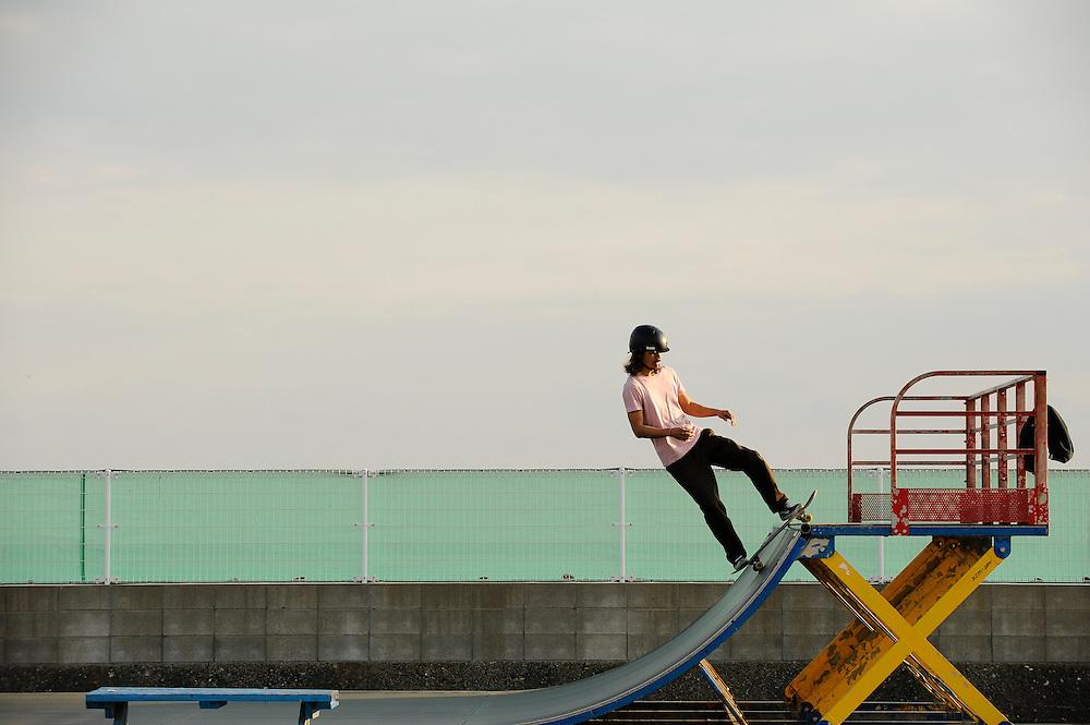 Kugenuma Skate Park, Fujisawa, Japan. Ben Weller/www.wellerpix.com