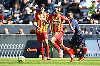 Jean Philippe Gbamin - 05.04.2015 - Bordeaux / Lens - 31eme journee de Ligue 1<br />Photo : Manuel Blondeau / Icon Sport