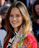 Borlange, 05-10-2015<br /> <br /> Official visit of Prince Carl Philip and Princess Sofia to Dalrna<br /> <br /> Visit and lunch at Visthusboden i Stora Skedvi. <br /> Photo: Royalportraits Europe/Bernard Ruebsamen