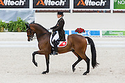 Marcela Krinke Susmeij - Smeyers Molberg<br /> Alltech FEI World Equestrian Games™ 2014 - Normandy, France.<br /> © DigiShots