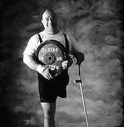 Australian Paralympian, Kari Puru. Lost his leg in an industrial accident