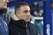 Sheffield Wednesday manager Carlos Carvalhal during the Sky Bet Championship match between Queens Park Rangers and Sheffield Wednesday at the Loftus Road Stadium, London, England on 20 October 2015. Photo by Jemma Phillips.