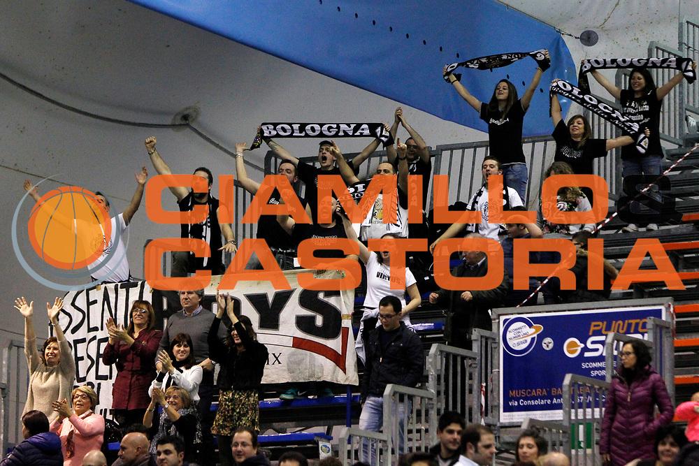 DESCRIZIONE : Capo dOrlando Lega A 2014-15 Orlandina Basket Granarolo Virtus Bologna<br /> GIOCATORE : supporters bologna<br /> CATEGORIA : supporters<br /> SQUADRA : Granarolo Virtus Bologna<br /> EVENTO : Campionato Lega A 2014-2015 <br /> GARA : Orlandina Basket Granarolo Virtus Bologna<br /> DATA : 01/02/2015<br /> SPORT : Pallacanestro <br /> AUTORE : Agenzia Ciamillo-Castoria/G.Pappalardo<br /> Galleria : Lega Basket A 2014-2015<br /> Fotonotizia : Capo dOrlando Lega A 2014-15 Orlandina Basket Granarolo Virtus Bologna