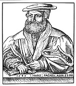 Germany, Hans Sachs, 1494-1576 AD