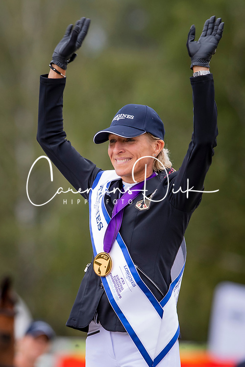 Individual Podium, Klimke Ingrid, GER<br /> European Championship Eventing<br /> Luhmuhlen 2019<br /> © Hippo Foto - Dirk Caremans