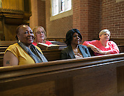 Students at Colgate Rochester Crozer Divinity School in Rochester on Wednesday, April 29, 2015.