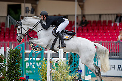 EIKENKÖTTER Steffen (GER), SIR SANDRO BS<br /> Münster - Turnier der Sieger 2019<br /> BRINKHOFF'S NO. 1 -  Preis<br /> CSI4* - Int. Jumping competition  (1.50 m) -<br /> 1. Qualifikation Grosse Tour <br /> Large Tour<br /> 02. August 2019<br /> © www.sportfotos-lafrentz.de/Stefan Lafrentz