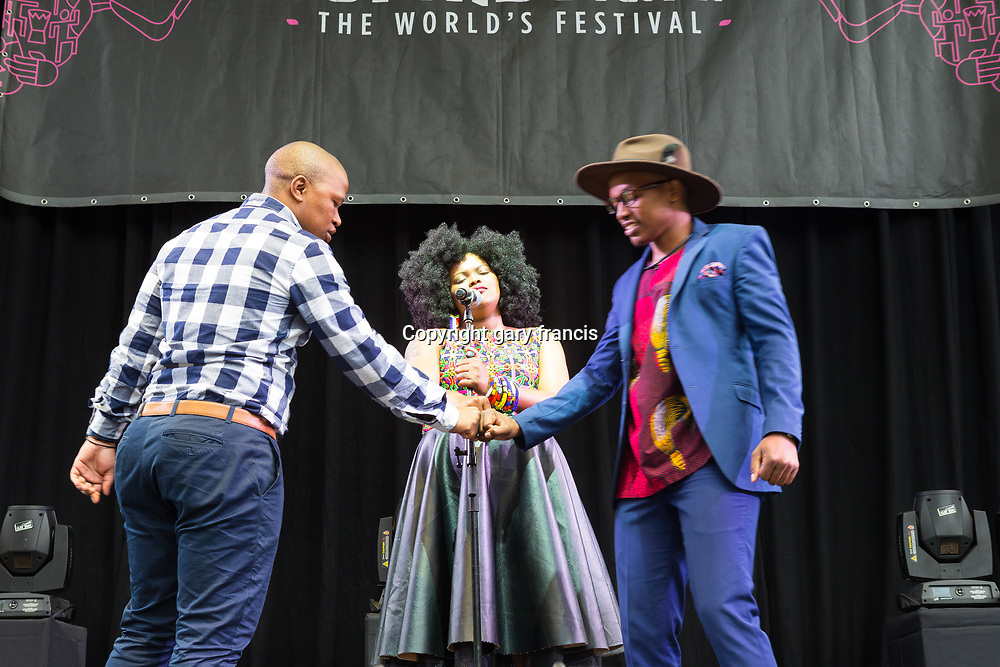 The Soil from South Africa performing at Womadelaide 2017 Music Festival held between 10 - 13 March 2017 in Adelaide, South Australia