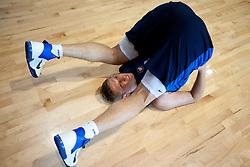 Gezim Morina at first practice session of KK Union Olimpija before new season 2011/2012, on August 8, 2011, in Arena Kodeljevo, Ljubljana, Slovenia. (Photo by Vid Ponikvar / Sportida)