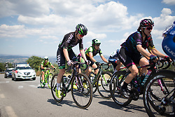 Lauren Kitchen (AUS) of WM3 Pro Cycling Team climbs near the back of the break up on the climb to Montemiletto during Stage 7 of the Giro Rosa - a 141.9 km road race, between Isernia and Baronissi on July 6, 2017, in Isernia, Italy. (Photo by Balint Hamvas/Velofocus.com)