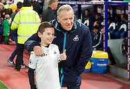 Caretaker manager Alan Curtis of Swansea City before the Premier League match at Selhurst Park, London<br /> Picture by Alan Stanford/Focus Images Ltd +44 7915 056117<br /> 03/01/2017