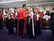 CAPT. ROB SUGDEN; AMY SUGDEN, The Royal Caledonian Ball 2010. Grosvenor House. Park Lane. London. 30 April 2010 *** Local Caption *** -DO NOT ARCHIVE-© Copyright Photograph by Dafydd Jones. 248 Clapham Rd. London SW9 0PZ. Tel 0207 820 0771. www.dafjones.com.<br /> CAPT. ROB SUGDEN; AMY SUGDEN, The Royal Caledonian Ball 2010. Grosvenor House. Park Lane. London. 30 April 2010