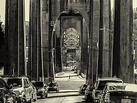 Arches of Aurora Bridge, Fremont