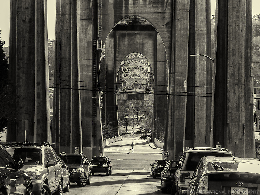 Arches of Aurora Bridge, Seattle