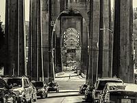 Arches of Aurora Bridge, Fremont