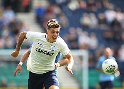 Jordan Hugill of Preston North End in action - Mandatory by-line: Jack Phillips/JMP - 22/07/2017 - FOOTBALL - Deepdale - Preston, England - Preston North End v Newcastle United - Pre-Season Club Friendly