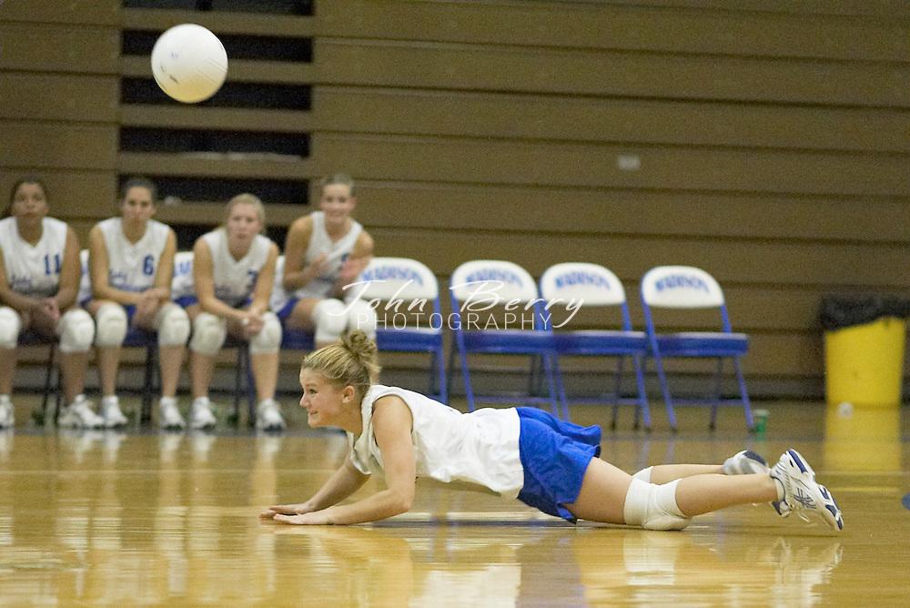 MCHS Varsity Volleyball..vs Strasburg..October 14, 2004