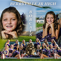 2016/2  Berryville Jr High Cheerleaders