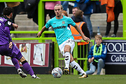 Forest Green Rovers Joseph Mills(23) on the ball during the EFL Sky Bet League 2 match between Forest Green Rovers and Port Vale at the New Lawn, Forest Green, United Kingdom on 8 September 2018.