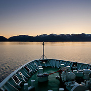 Three weeks aboard the Kong Harald. Hurtigruten, the Coastal Express.