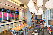w xyz bar in the Aloft Hotel at 225 Baronne Street in New Orleans, Louisiana