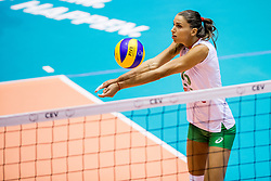 22-08-2017 NED: World Qualifications Slovenia - Bulgaria, Rotterdam<br /> Bulgaria win 3-1 against Slovenia / Elitsa Vasileva #16 of Bulgaria