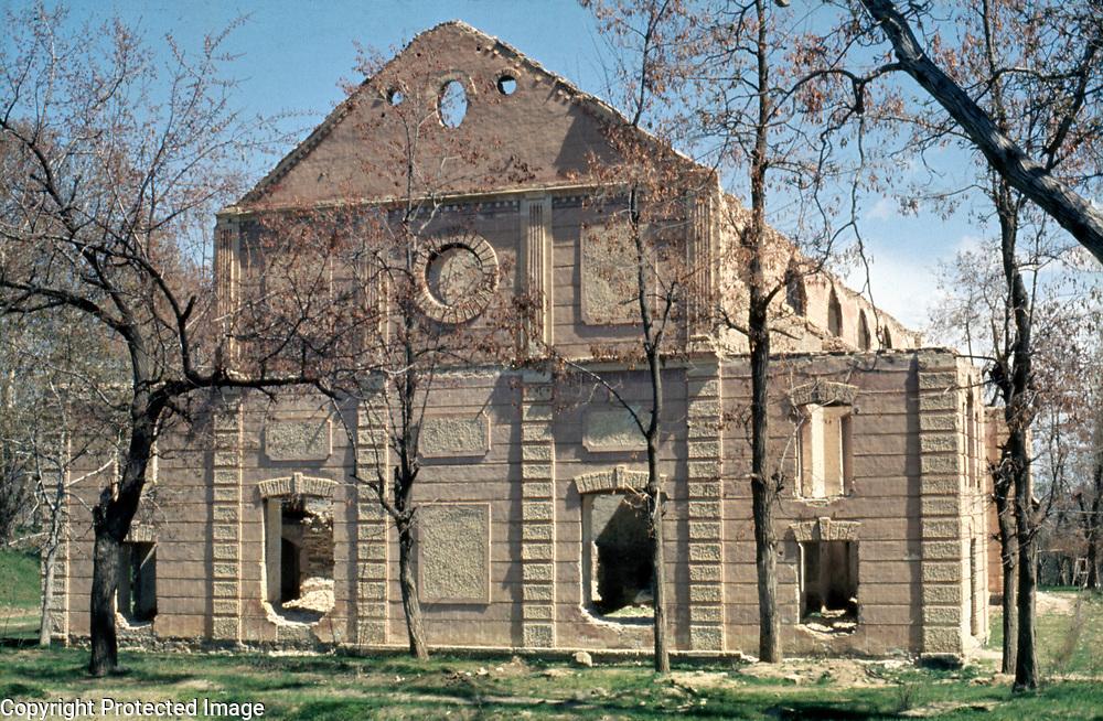 1974<br /> The east facade.