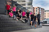 Company Group Portraits (firmaportrætter) of Swiss Fundraising Team RaiseNow, photographed in Copenhagen, Denmark<br /> <br /> © Portrait Photographer in Copenhagen Matthew James
