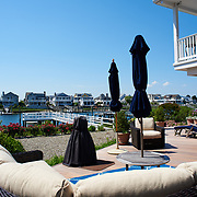 AVALON, NJ - JUNE 10, 2017: A view of the harbor from the deck in the rear of the house. 4738 Ocean Dr, Avalon, NJ. Credit: Albert Yee for the New York Times