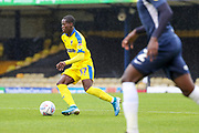 AFC Wimbledon defender Paul Osew (37) dribbling during the EFL Sky Bet League 1 match between Southend United and AFC Wimbledon at Roots Hall, Southend, England on 12 October 2019.