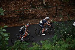 \netedm\ and Ilona Hoeksma (NED) at Boels Ladies Tour 2018 - Stage 2, a 137.9km road race in Nijmegen, Netherlands on August 29, 2018. Photo by Sean Robinson/velofocus.com
