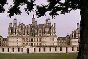 The Chateau at Chambord, France, in the Loire Valley.