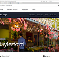 Daylesford features in the Villages of Victoria, for Tourism Victoria