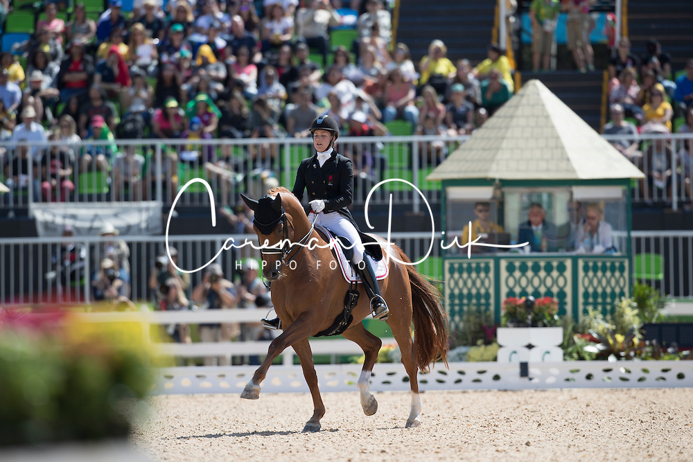Dufour Cathrine, DEN, Atterupgaards Cassidy<br /> Olympic Games Rio 2016<br /> &copy; Hippo Foto - Dirk Caremans<br /> 11/08/16