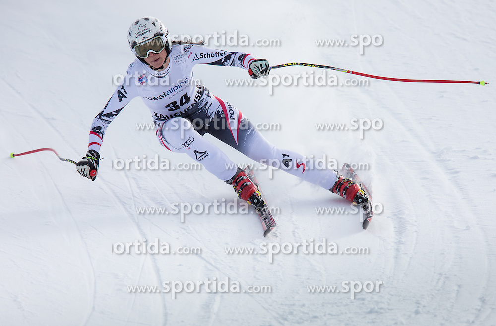 11.01.2014, Kalberloch, Zauchensee, AUT, FIS Ski Weltcup, Abfahrt, Damen, Bewerb, im Bild Joana Haehlen (SUI) // Joana Haehlen of Switzerland in action during ladies downhill of the Altenmarkt Zauchnesee FIS Ski Alpine World Cup at the Kaelberloch course in Zauchensee, Austria on 2014/01/11. EXPA Pictures © 2014, PhotoCredit: EXPA/ Johann Groder