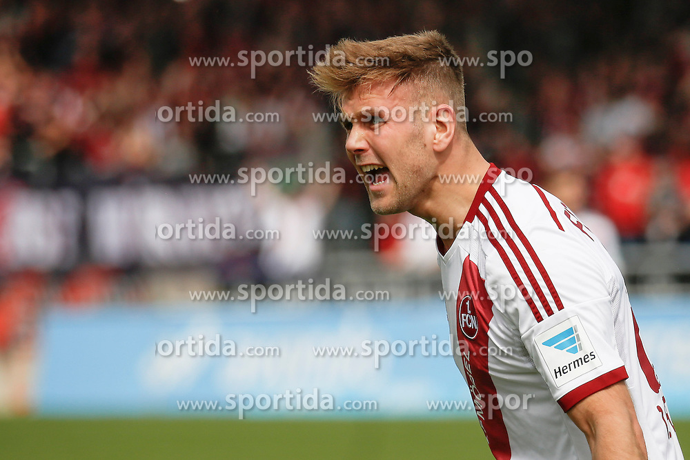 03.04.2016, Volksbank Stadion, Frankfurt, GER, 2. FBL, FSV Frankfurt vs 1. FC Nuernberg, 28. Runde, im Bild Niclas Fuellkrug (Nuernberg, 24) // during the 2nd German Bundesliga 28th round match between FSV Frankfurt and 1. FC Nuernberg at the Volksbank Stadion in Frankfurt, Germany on 2016/04/03. EXPA Pictures &copy; 2016, PhotoCredit: EXPA/ Eibner-Pressefoto/ RRZ<br /> <br /> *****ATTENTION - OUT of GER*****