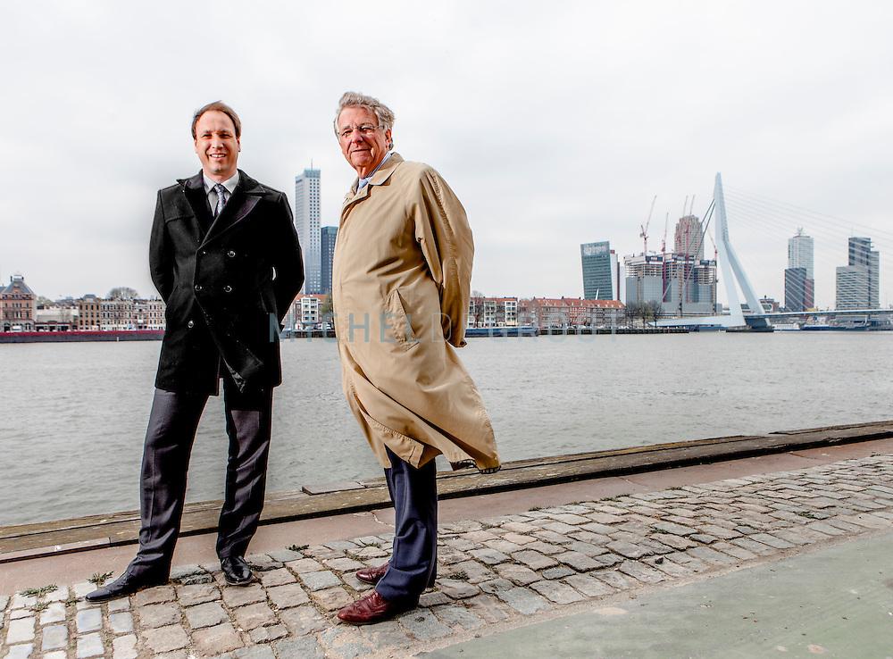 Thierry Verduin en Jos Benders in Rotterdam
