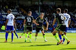 Tom Lockyer of Bristol Rovers celebrates after scoring his sides first goal  - Mandatory by-line: Matt McNulty/JMP - 19/08/2017 - FOOTBALL - Gigg Lane - Bury, England - Bury v Bristol Rovers - Sky Bet League One