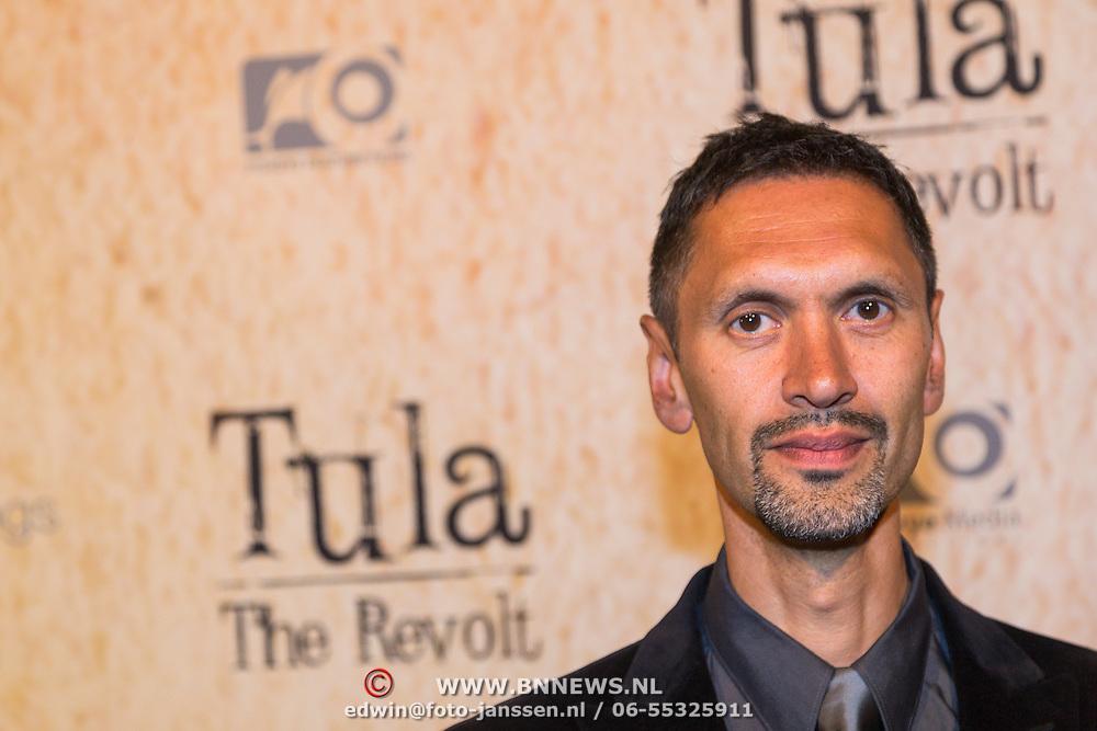 NLD/Amsterdam/20130625 - Premiere van de film Tula The Revolt, Paul Bazely