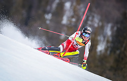 17.02.2019, Aare, SWE, FIS Weltmeisterschaften Ski Alpin, Slalom, Herren, 1. Lauf, im Bild Manuel Feller (AUT) // Manuel Feller of Austria in action during his 1st run of men's Slalom of FIS Ski World Championships 2019. Aare, Sweden on 2019/02/17. EXPA Pictures © 2019, PhotoCredit: EXPA/ Johann Groder