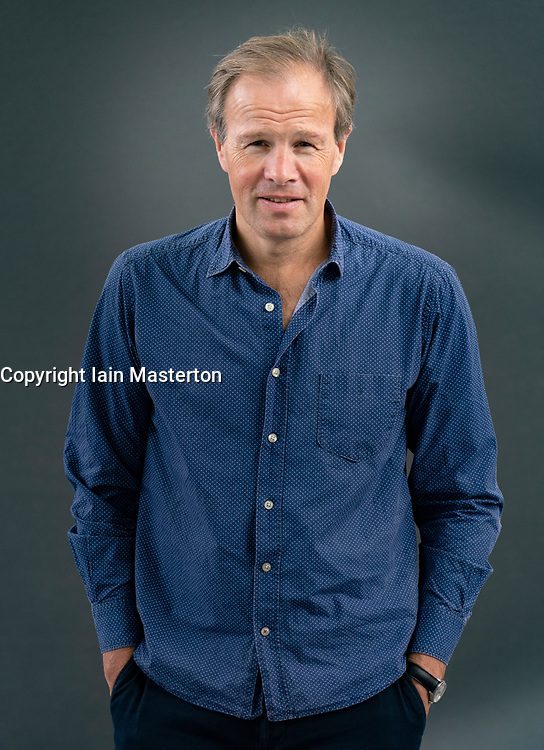 Edinburgh, Scotland, UK. 21 August 2019. Tom Bradby. Tom Bradby's latest book, Secret Service, revolves around a new Cold War during which a senior UK politician, who may be a high level mole for the Russians , is under investigation.Iain Masterton/Alamy Live News.