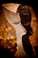 Zimsculpt at Van Dusen Botanical Garden: My Shadow & I - springstone sculpture by Sam Mabeu (original sculpture available at www.zimsculpt.com)