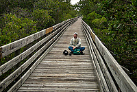 Weedon Island Nature Preserve Walkway. Image taken with a Nikon D200 camera and 18-200 mm VR lens (ISO 200, 44 mm, f/8, 1/350 sec)