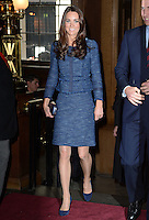 The Duke and Duchess of Cambridge attend a reception to celebrate the Scott-Amundsen Centenary Race to the South Pole at Goldsmiths&rsquo; Hall, London, UK, on the 26th April 2012.<br /> <br /> PICTURE BY JAMES WHATLING
