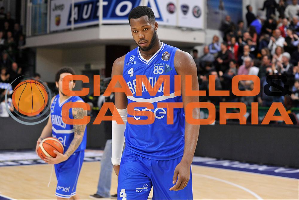 Robert Lawrence Carter<br /> Banco di Sardegna Dinamo Sassari - Enel New Basket Brindisi<br /> LegaBasket Serie A LBA Poste Mobile 2016/2017<br /> Sassari 02/04/2017<br /> Foto Ciamillo-Castoria