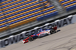 July 7, 2018 - Newton, Iowa, United States of America - TONY KANAAN (14) of Brazil takes to the track to practice for the Iowa Corn 300 at Iowa Speedway in Newton, Iowa. (Credit Image: © Justin R. Noe Asp Inc/ASP via ZUMA Wire)
